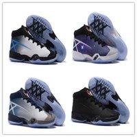 Las ventas calientes del envío de aire retro de los 30 zapatos de baloncesto XXX Salte al hombre de los nuevos hombres zapatillas de deporte corrientes de alta calidad