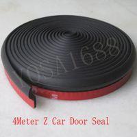 Wholesale 4Meter Z type M adhesive car rubber seal Sound Insulation car door sealing strip weatherstrip edge trim noise insulation