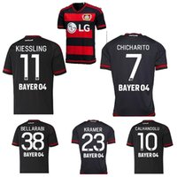 Wholesale Bayer Leverkusen Jersey CHICHARITO home away CALHANOGLU KIESSLING thai quality Leverkusen football shirt soccer jersey