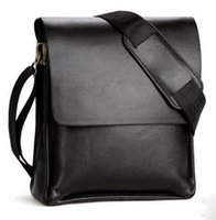 Wholesale 2016 New Men Casual Bags Soft and Large Capacity shoulder bags Diagonal Package European Fashion Briefcase for Business male package