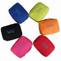 Wholesale Makeup Organizer Waterproof Toiletry Bag case Hanging Travel cosmetic Bags Men Toiletry Bathing Bag kit for Necessaries