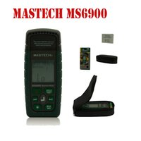 Wholesale Mastech MS6900 Humidity Digital Moisture Meter Tester Wood Lumber Concrete Buildings Hygrometer Termometro with LCD Display