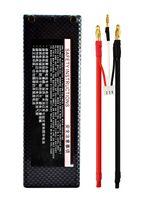 Cheap Register 7.4V 5200mAh 35C 2S RC LiPo Battery Hard Case for 1 10 RC Car banana connector