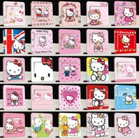 Wholesale Hello Kitty Wall Sticker connector jack Switch Stickers Cure cartoon Kitty cat Removable PVC Decorative sticker