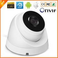 Caméra 720P 960P 1080P HI3516C 25fps IP intérieure Caméra de sécurité Dôme vidéo 2PCS IP ARRAY LED ONVIF 2.0