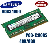 Wholesale SAMSUNG GB GB PC12800 Laptop SoDimm Memory DDR3 RAM MHz GB GB DDR3 PC3 Pin G G memory