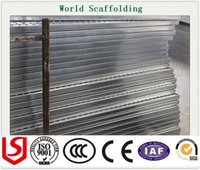 Wholesale high quality steel metal galvanized and painting scaffolding plank GI PIPE