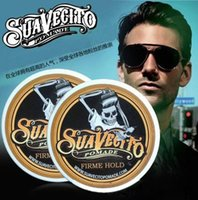 Wholesale Suavecito Pomade Strong style restoring Pomade Hair wax skeleton hair slicked hair oil wax mud keep hair pomade men no original