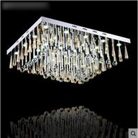 Wholesale LED crystal lamp ceiling lamp European style luxurious living room bedroom lighting bedroom lighting