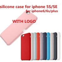 Wholesale Silicone Case For iPhone S plus Official Phone Cover with Logo and Retail Package High Quality Fast Shipping
