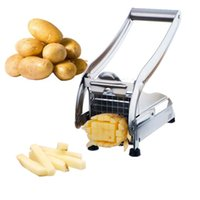 Wholesale Stainless Steel French Fry Cutter Potato Cutter Kitchen Cooking Tools Gadgets