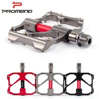 alloy road bike - PROMEND bicycle pedal light weight road MTB bike pedal colors non slip aluminium alloy cycling pedals bicycle parts