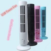 air conditioners work - USB Cooling Tower Fan Laptop Desk Portable Home Office Bladeless Work Station Mini Fan Air Conditioner LJJG411