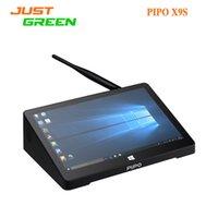 Wholesale 8 Inch PIPO X9S Dual OS Windows Android Mini PC Intel Cherry Trail Z8300 Quad Core GB RAM GB ROM HDMI Bluetooth