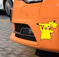 animal sticker sheets - 10 x Newest Car Styling Lovely Cartoon Animal Pika Poke Car Sticker Decals for Toyota Peugeot Fiesta Opel Chevrolet VW Kia