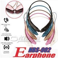 apple bluetooth earpiece - HBS Earphones In ear Universal Wireless Bluetooth Music Stereo Sport Headset Headphone Earpiece HBS For LG HBS902 Not Original