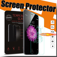Wholesale Tempered Glass Screen Protector Film For LG G4 iPhone plus S3 samsung S6 S6 Edge Note Note