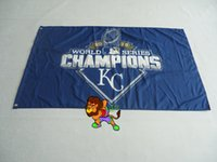 Wholesale Kansas City Royals World Series Champs Flag and Banner X5FT