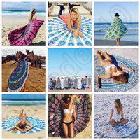 wall hanging tapestry - Hot Design Round Tassel beach towels Indian Hippie Mandala Round Beach Towel Throw Tapestry Wall Hanging Yoga Mat