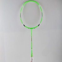 badminton rackets - High Quality Sport dexterous Badminton Rackets green Durable Badminton Racket Racquet Carbon Fiber Badminton Racket Own brand