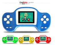 Wholesale Coolboy RS different games Children s game BIT handheld color tetris games for small kids