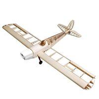 balsa kit - Space Walker mm Wingspan Gas Electric Dual Power Balsa Wood Airplane KIT