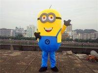 Cattivissimo Me 2 del costume della mascotte Cattivissimo me minion del costume della mascotte del fumetto operato da trasporto