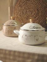 Wholesale Enamel Soup Pot And Milk Pot Diameter CM