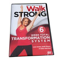 Wholesale Walk Strong Week Total Transformation System Workout Fitness Disc Set US Version Region