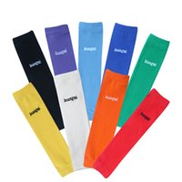 Wholesale 1 Pair cycling arm sleeves basketball sleeve arm warmers Compression elastic Cotton Protection Elbow Support Sport for running Football Golf