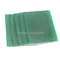 Wholesale 5pcs x8cm Double Side Prototype PCB Universal Printed Circuit Board E5M1 order lt no track