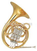 Wholesale Eb F Junior French Horn Three Valves Cooper Body With Foambody case Children French Horn Musical instruments