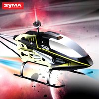 Wholesale SYMA Syma S8 RC CH Helicopter with gyroscope Children Aircraft Model Toy Alloy Radio Controlled Helicopters Mini Drone in high quality