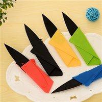 Wholesale Multifunctional Portable Folding Knife Self defense Creative Credit Card Card On Behalf Of A Knife