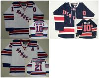 Wholesale 2016 Mix Order New York Rangers Men s J T Miller Jerseys Derek Stepan ICE Hockey Jersey Embroidery Cheap Throwback CCM Jerseys