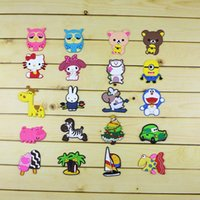 Wholesale New Cute Cartoon Anime Action Figure Famous Characters Fridge Magnet Home Decor Refrigerator Sticker WA0831