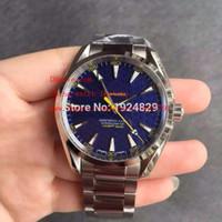 aqua factory - Luxury High Quality KW Factory Maker Blue mm Aqua Terra James Bond Swiss Movement Automatic Mens Watch Watches