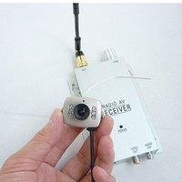 Wholesale new wireless Mini Security Spy Camera Color Night Hidden IR CAMERA receiver