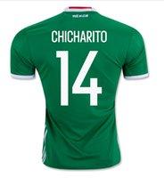 mexico - TOP Thai AAA Grade CHICHARITO Mexico jersey WHITE BLACK Mexico soccer jersey Mexico football soccer shirts