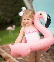 Wholesale HOT SALE Children swim ring Baby White Swan Flamingo lovely swimming ring