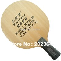 Wholesale LKT Mind Game L Plywood Attack Table Tennis Blade Penhold for PingPong Racket
