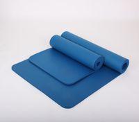 Wholesale 15mm Thick NBR Yoga Mat Beginners Fitness Mat Yoga Mat Flexible Non slip Exercise Pad CM Environmental