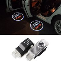 audi tt lights - Car Door Welcome Light Laser Door Shadow Projector Logo For Audi A3 A4 A5 A6 A7 A8 R8 Q5 Q7 TT S line