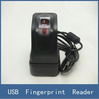 Wholesale 2016 Brand New USB Fingerprint Reader Scanner Sensor ZKT ZK4500 for Computer PC Home and Office With Retail Box
