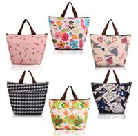 Wholesale Retail New Fashion Mummy Insulation Bag Baby Diaper Bags Mother Multifunctional Bags Portable MultiColor Mom Shoulder Bag Style