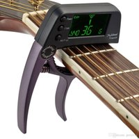 Wholesale Meideal Good Quality TCapo20 Quick Change Key Capo Tuner Durable Alloy Material for Acoustic Electric Guitar Bass Chromatic