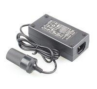 Wholesale 60W AC V to DC V A Car Cigarette Lighter Power Converter Adapter Inverter Car to Home