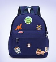 Wholesale children aminal cartoon school bags Backpack Rucksack Book bag boys grils School bag for Kindergarten school