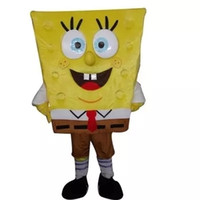 Wholesale High quality Sponge Bob Mascot Costume Spongebob and Patrick Mascot Costume