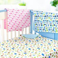 Wholesale Bamboo Changing Pads x80cm TPU Waterproof Diaper Changer Portable Crawling mat Urina Impermeavel Cartoons